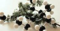 molécula de nutriente para las plantas