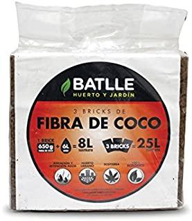 Sustratos para cultivos hidropónico de fibra de coco