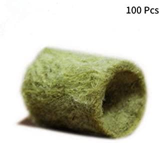Cilindros lana de roca para crecimiento de semillas en hidroponía