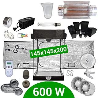 Kit de armario de cultivo en hidroponía