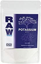 Nutriente de potasio para fertilización de cultivos en hidroponía