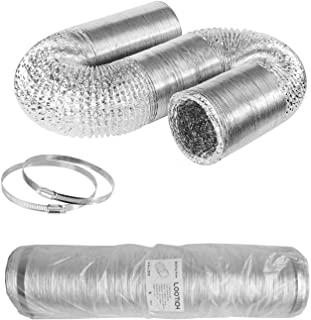 Tubos flexibles para ventilación de armarios hidropónicos