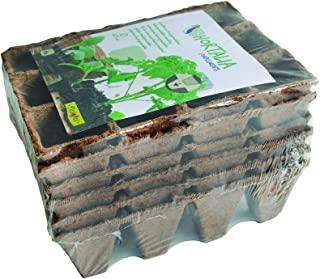 Semilleros biodegradables del crecimiento vegetal