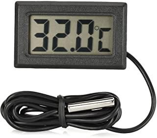 Termómetro digital controlar temperatura en cultivos