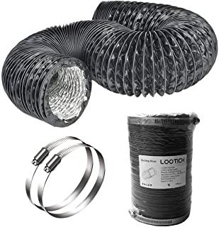 Tubo de ventilación flexible de cultivos de interior caseros